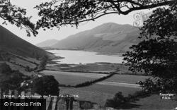 Tal-Y-Llyn, A Peep Throught The Trees c.1955