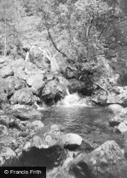 Tal-Y-Llyn, Dol-Y-Cae Waterfall 1955