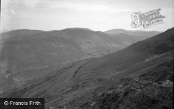 Tal-Y-Llyn, From Cader Idris 1955