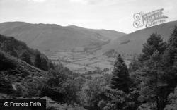 Tal-Y-Llyn, From Dol-Y-Cae Waterfall 1955