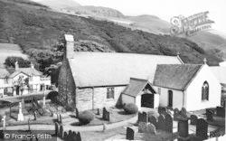 Tal-Y-Llyn, St Mary's Church And Pen-Y-Bont Hotel c.1960
