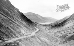 Tal-Y-Llyn, The Pass And Lake c.1955