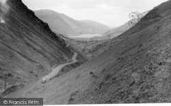 Tal-Y-Llyn, View From The Top Of The Pass c.1955