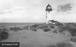 Point Of Ayr Lighthouse c.1960, Talacre