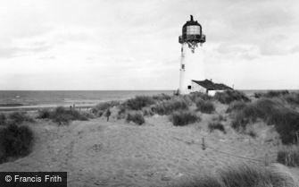 Talacre, Point of Ayr Lighthouse c1960
