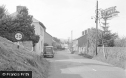 Talgarth, Abergavenny Road 1952