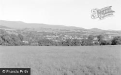 Talgarth, And The Black Mountains 1952
