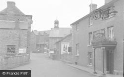 Talgarth, Bridge End Hotel 1955