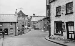 Talgarth, Bridge Street 1963