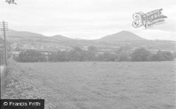 Talgarth, General View 1955