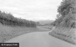 Talgarth, Hay Road 1955