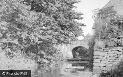 Talgarth, Mill Bridge 1952