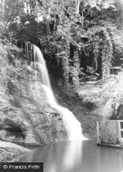 Talgarth, Pwll-Y-Wrach Falls 1955