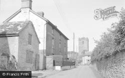 Talgarth, School Lane 1952