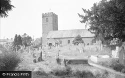 Talgarth, St Gwendoline's Church 1960