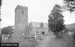 Talgarth, St Gwendoline's Church 1963