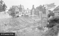 Talgarth, The River Ennig 1960