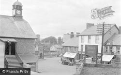 Talgarth, The Square 1955