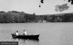 Boating On The Tarn c.1955, Talkin