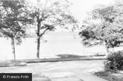 The Lake From Tarn End Hotel c.1960, Talkin