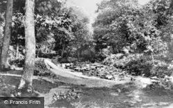 Talybont, By The River Ysgethin 1950, Tal-Y-Bont