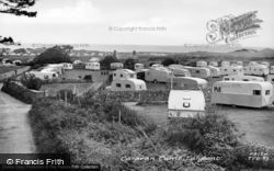 Talybont, Caravan Camp c.1955, Tal-Y-Bont