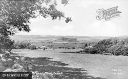 Talybont, General View c.1955, Tal-Y-Bont