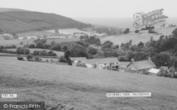 Talybont, General View c.1965, Tal-Y-Bont