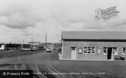 Talybont, Islawffordd Caravan Park Entrance c.1960, Tal-Y-Bont