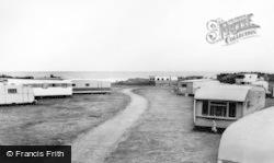 Talybont, Islawrffordd Caravan Park c.1960, Tal-Y-Bont