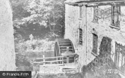 Talybont, Lerry Mill Wheel c.1960, Tal-Y-Bont
