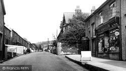 Talybont, Middle Talybont c.1960, Tal-Y-Bont
