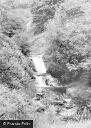 Talybont-on-Usk, Blaen Y Glyn Waterfalls c.1960