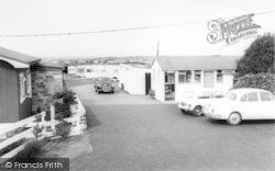Talybont, Saen Faen Caravan Site c.1965, Tal-Y-Bont