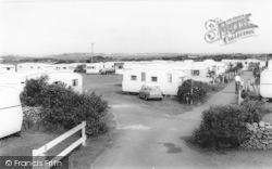 Talybont, Saen Faen Caravan Site c.1965