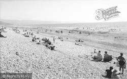 Talybont, The Beach c.1960, Tal-Y-Bont