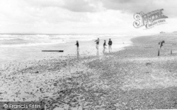 Talybont, The Beach c.1965
