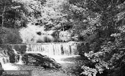Talybont, The Leri Falls c.1955, Tal-Y-Bont