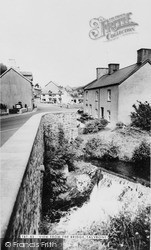 Talybont, View From The Bridge c.1965