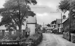 Talybont, Village c.1955, Tal-Y-Bont