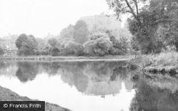 Tamworth, Castle c.1955