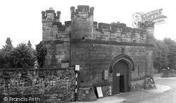 Tamworth, Castle, Main Entrance c.1955