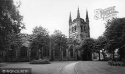 Tamworth, Church Of St Editha c.1965