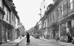 Tamworth, Church Street c.1950