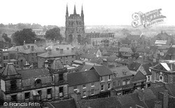 Tamworth, From The Castle 1949