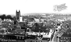 Tamworth, General View c.1965