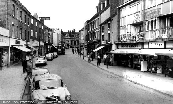 Photo of Tamworth, George Street c1965