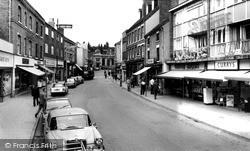 Tamworth, George Street c.1965