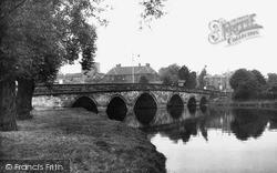Tamworth, Lady Bridge c.1955