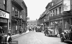 Tamworth, Market Street 1949